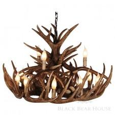 żyrandol z poroża black bear house