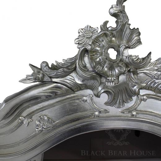 francuska srebrna szafablack bear house