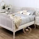 francuskie rattanowe łóżko black bear house.001