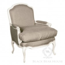 tapicerowany fotel black bear house