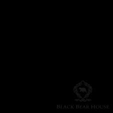 pufa na aluminiowych nogach black bear house