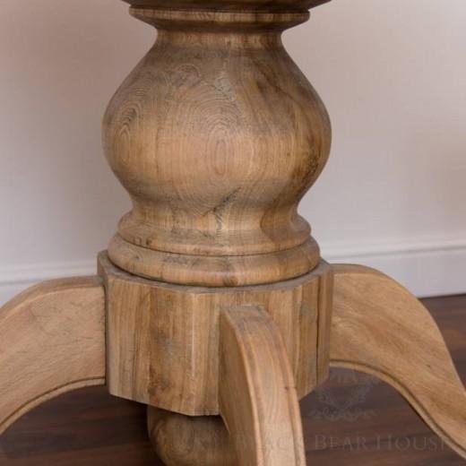 stół drewniany black bear house