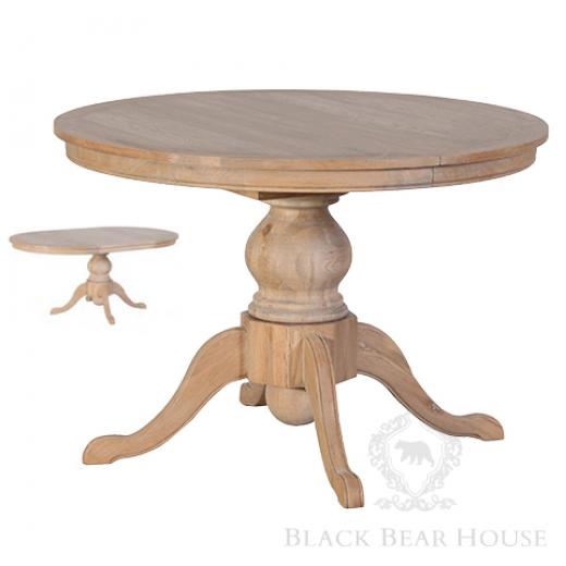 stół rozkładany drewniany black bear house