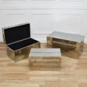 Zestaw kufrów z aluminium