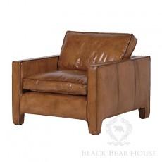skórzany fotel black bear house