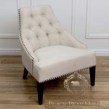 fotel pikowany w stylu nowojorskim