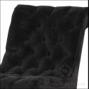 pikowany fotel black bear house