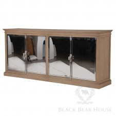 drewniana komoda black bear house