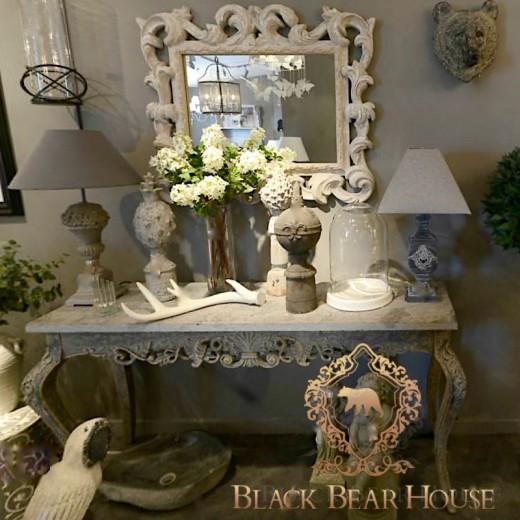 francuska konsola black bear house