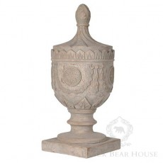kamienna urna black bear house