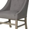 krzesło tapicerowan black bear house II