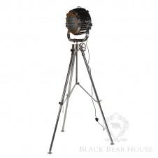 stojąca lampa reflektor black bear house