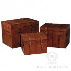 kufer ze skóry black bear house