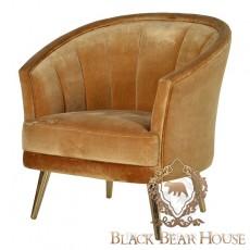 tapiecrowany fotel black bear house