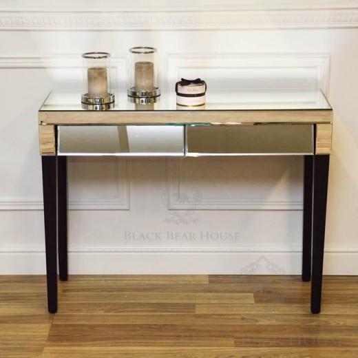 biurko lustrzane