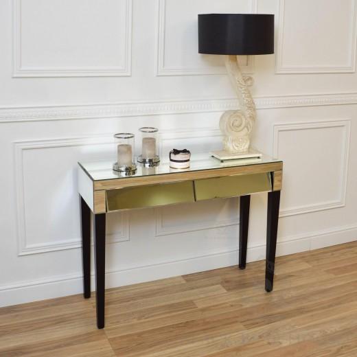 biurko lustrzane w stylu nowojorskim black bear house