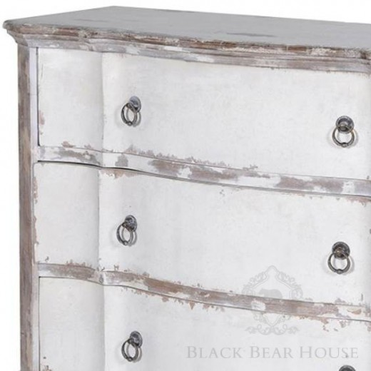 komoda shabby chic black bear house
