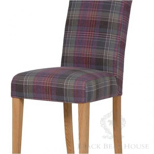 tapicerowane krzesło black bear house