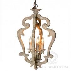 latarnia francuska lampa black bear house
