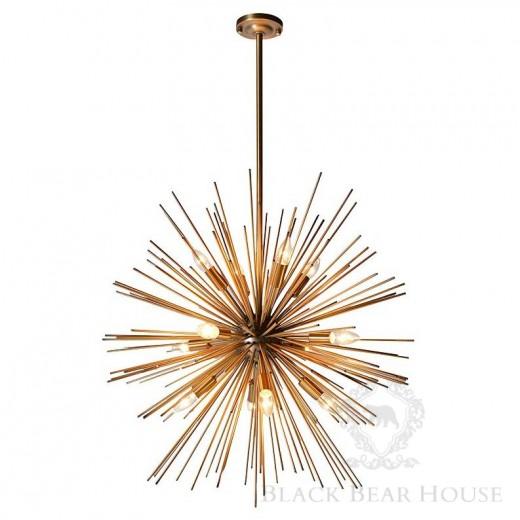 złota lampa modern classic black bear house