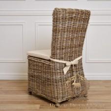 rattanowe krzesło