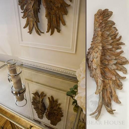 skrzydła anioła dekoracja ścienna black bear house 2