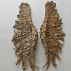 skrzydła anioła dekoracja ścienna black bear house