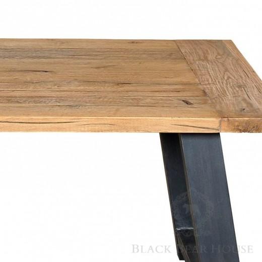 drewniany stół black bear house