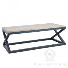 industrialny stolik kawowy black bear house