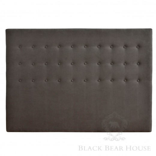 tapicerowany zagłówek black bear house