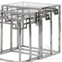aluminiowe stoliki black bear house