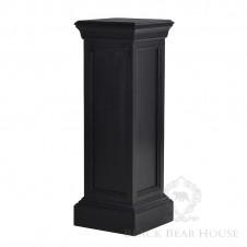 czarna kolumna w stylu amerykańskim
