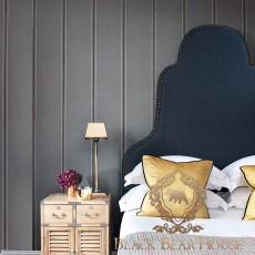 łóżko w stylu nowojorskim black bear house