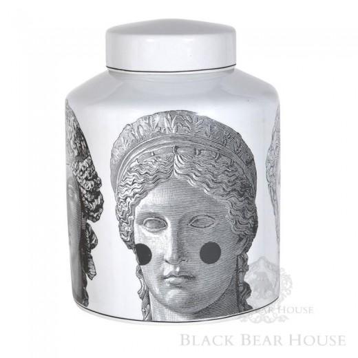 pojemnik z wizerunkiem greckiej bogini black bear house