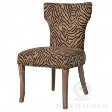 krzesło zebra black bear house
