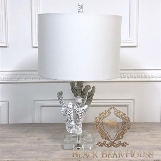 lampa stolikowa z koralowca