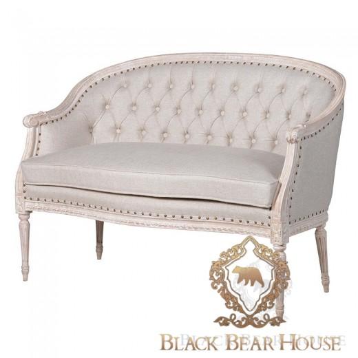 tapicerowana francuska sofa