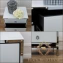 biała szafka w stylu nowojorskim black bear house