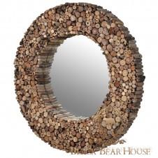 lustro z gałęzi