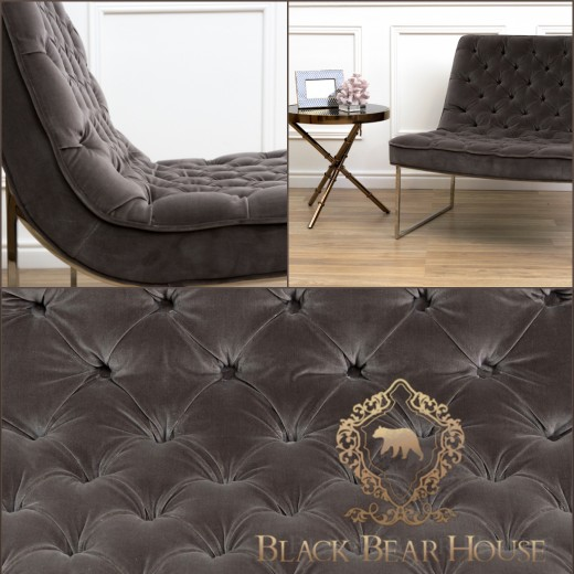 nowojorski fotel w stylu nowojorskim black bear house