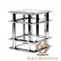 metalowy stolik w stylu nowojorskim