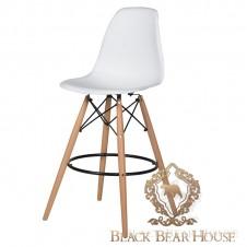 krzesło barowe z plastiku