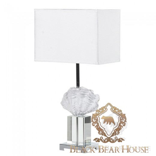 lampa stolikowa z muszlą