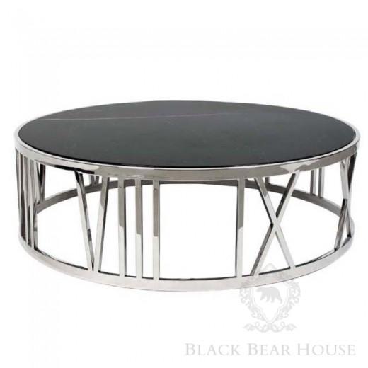 Eichholtz metalowy stolik kawowy