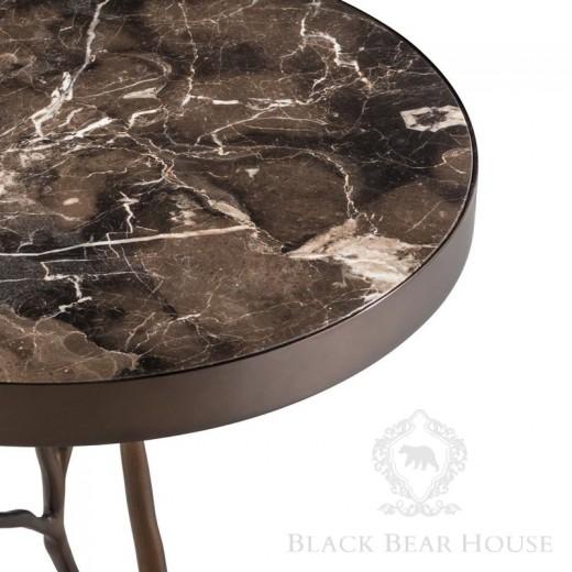 Eichholtz stolik z marmurem