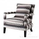 Eichholtz fotel w stylu nowojorskim