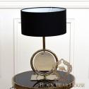 lampa w stylu modern classic black bear house