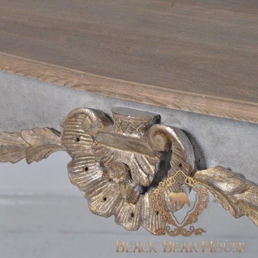 francuska drewniana konsola