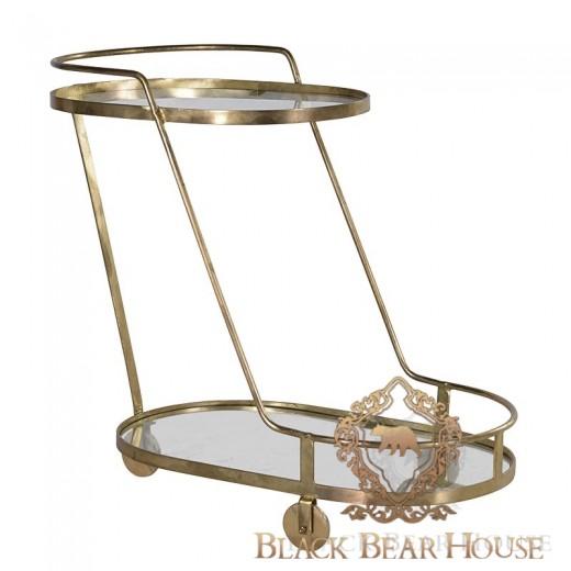 stolik pomocniczy w stylu manhattan