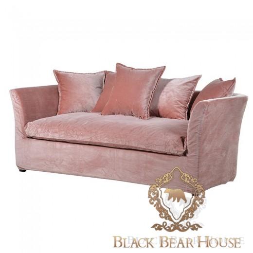 francuska sofa z weluru